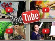 Видео-уроки живописи